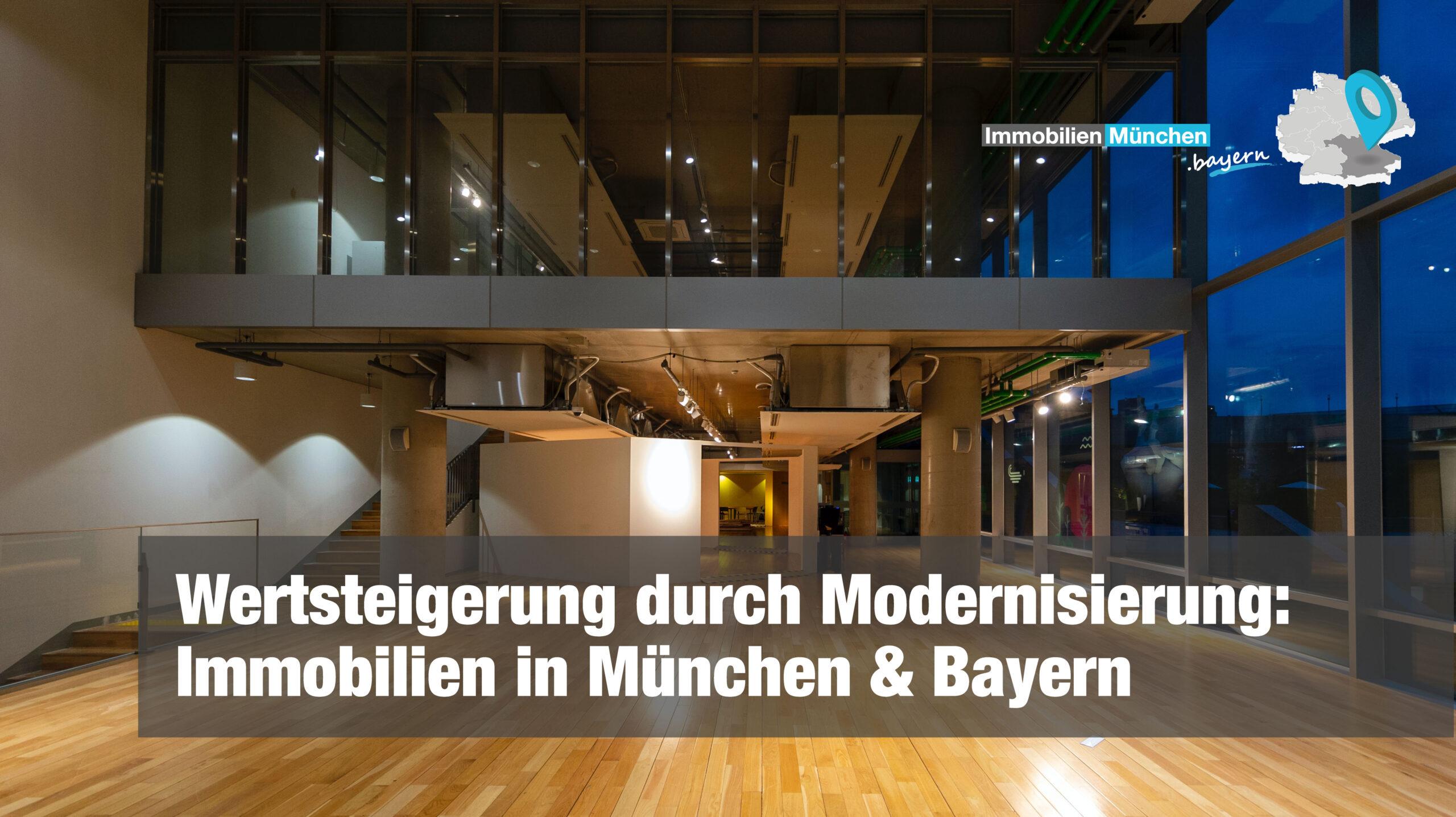 Immobilien München Sanierung Renovierung